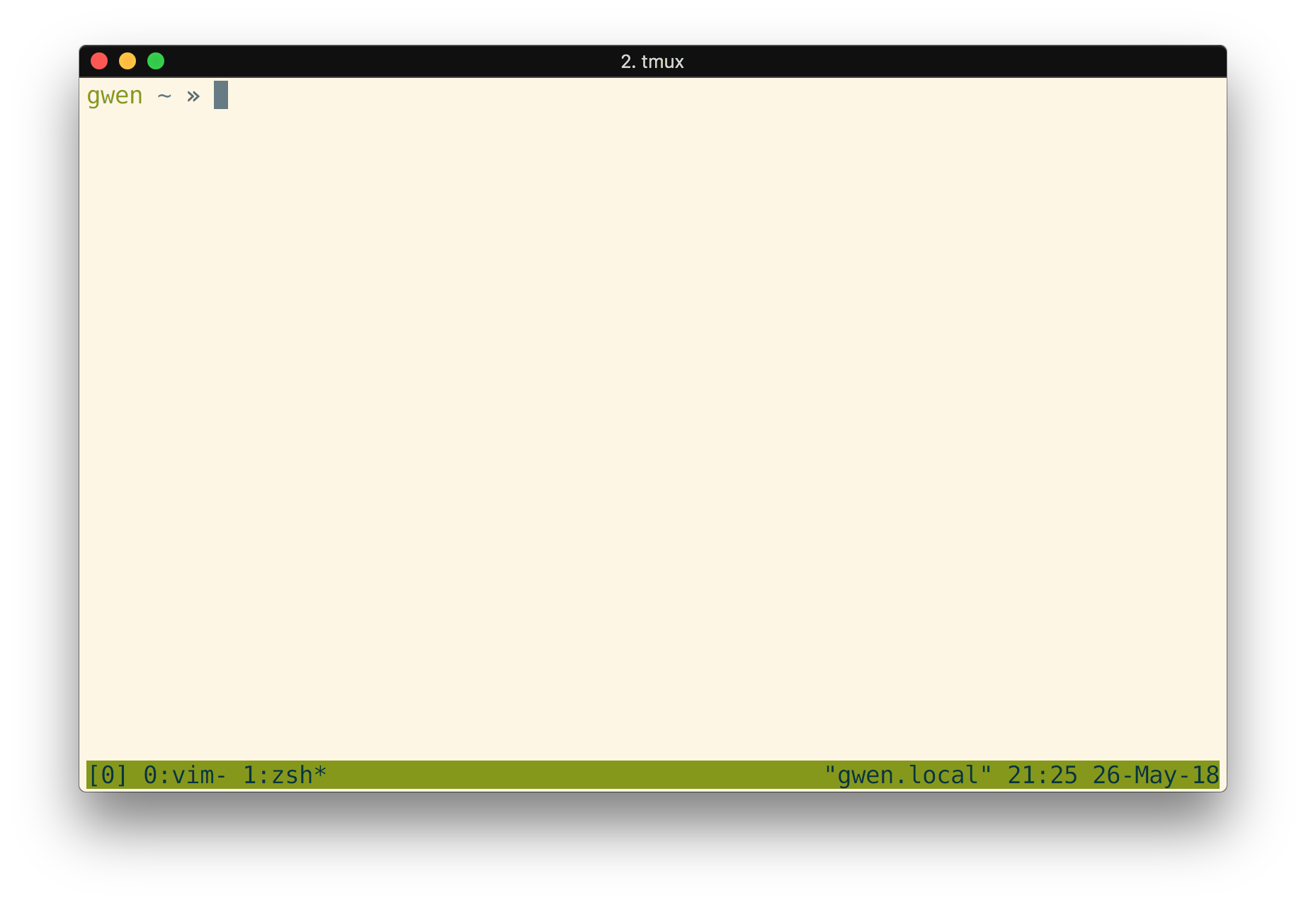 Zsh Two Line Prompt
